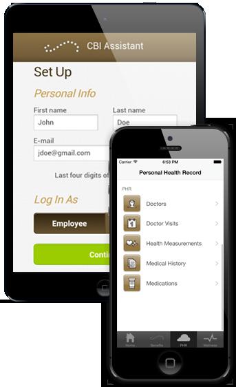 CBI Assistant App Screen
