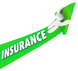 Insurance Person Riding High Costs Expenses Medical Prices